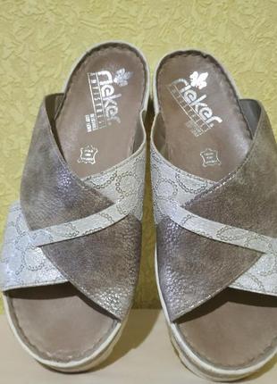 Rieker босоножки, шлепанцы, туфли, сабо оригинал германия кожа