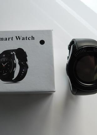 Умные смарт часы Smart Watch V8 Черные (V8)