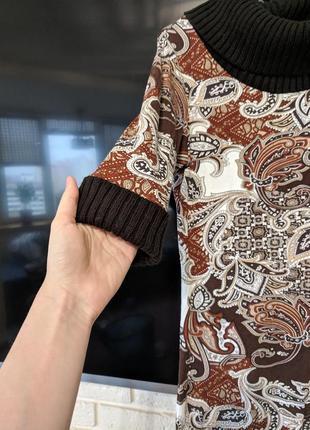 Платье з узором Bonprix