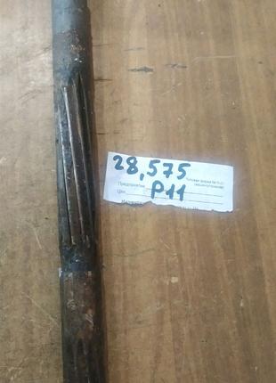 Развертка 28,575 мм Р-11 с направляющей, СССР
