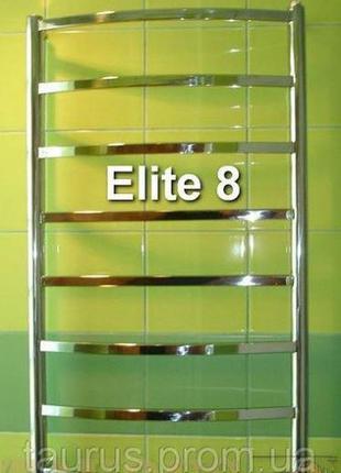 Полотенцесушитель из нержавеющей стали Elite 8/500 высота 850 мм