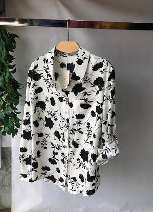 Женская рубашка блузка размер 50-56