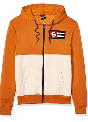 Southpole Men's Fleece Full Zip Sweatshirt свитшот кенгурушка l-x