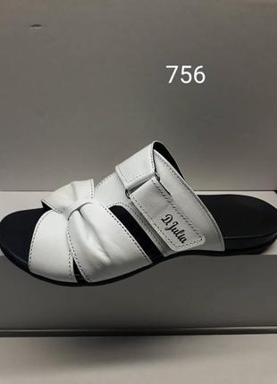 Летняя женская обувь из натуральной кожи