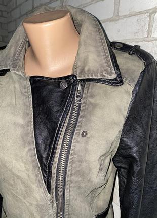 Стильная куртка/косуха,ветровка  цвет хаки  бренд fb sisters