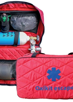 Киснева рятувальна аптечка /Кислородная спасательная аптечка
