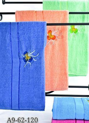 Махровые банные полотенца. Упаковка 10шт