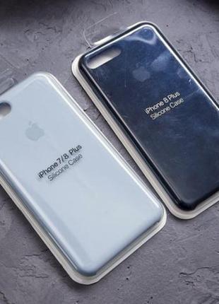 Cиликоновый чехол для IPhone 7plus/8plus