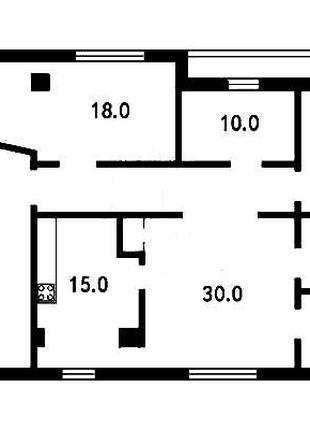 Аренда офиса 120 кв. м, на Позняках. № 1417177