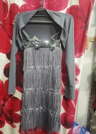 Платье болеро