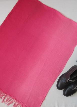#розвантажуюсь розовый шарф палантин омбре с градиентом перехо...