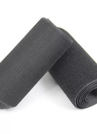 Широкая 10 см лента липучка, пришивная текстильная застежка велкр