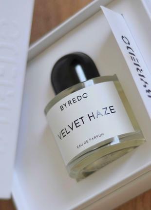 Byredo Velvet Haze Оригинал EDP  3 мл Затест_парф.вода
