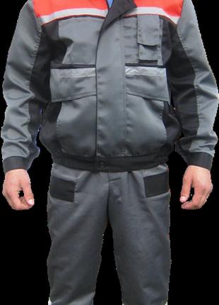 Модельный рабочий костюм. Стильная спецодежда
