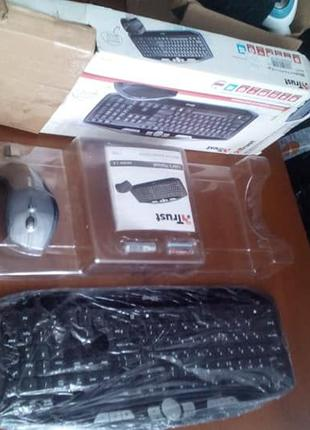 Беспроводной набор, клавиатура + мышь Trust MaxTrack Wireless ...