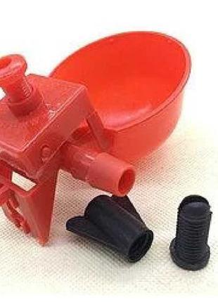 Комплект микрочашечная поилка для кур , перепелов, бройлеров