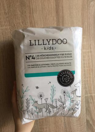Подгузники lillydoo