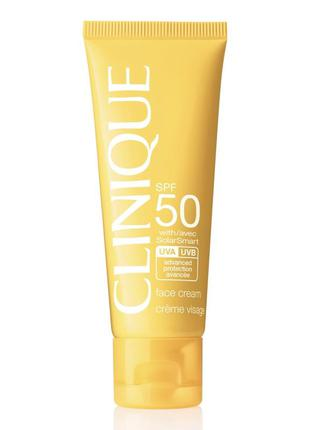 Clinique spf 50 солнцезащитный крем для лица