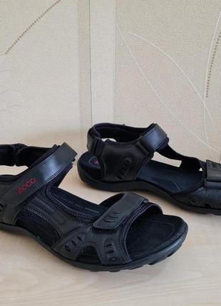 Мужские кожаные сандалии босоножки ecco оригинал размер 46