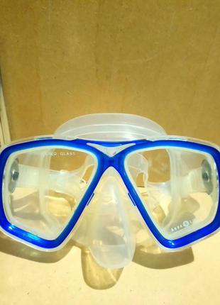 Маска для подводного плавания дайвинга,снорклинга