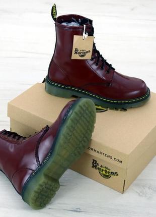 Шикарные женские кожаные ботинки/ сапоги/ угги dr. martens 146...