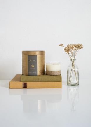 Натуральная, массажная, крем свеча, без аромата, органика, веган,