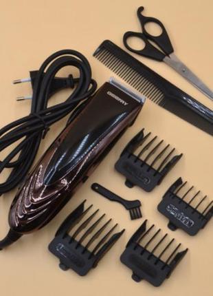 Профессиональная машинка для стрижки волос geemy (gm 813) от сети
