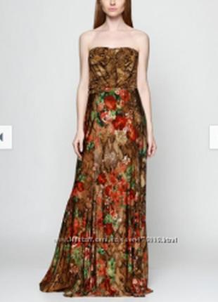🌺👗🌺красивое, новое женское длинное платье, сарафан mango🔥🔥🔥