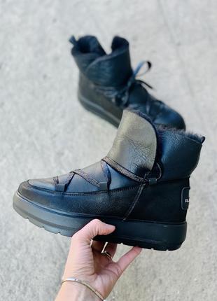 Хит 2020♥️ крутые женские кожаные угги/ ботинки