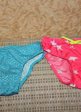 Купальные плавки девочке 1-2 года