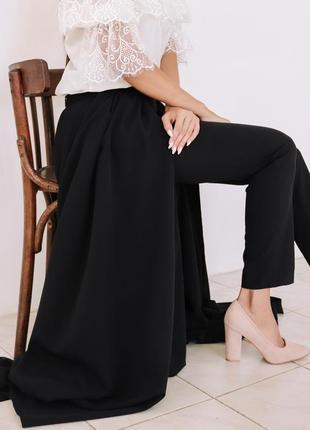 Тренд будущей весны: юбка-брюки