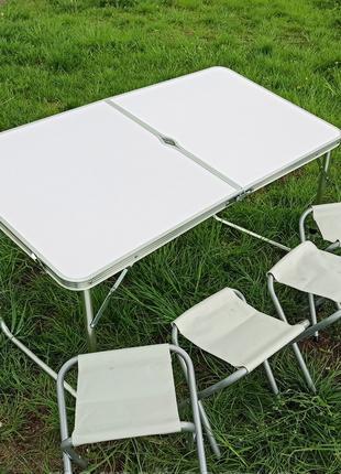 Стол раскладной для пикника со стульями Folding table, Складной