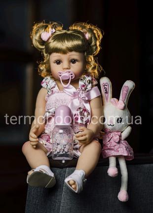 Кукла Реборн 55см силиконовая reborn куклы большие можно купать