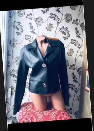 Италия кожаная куртка пиджак