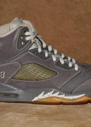 Nike air jordan 5 v retro кроссовки кожаные. оригинал. 36 р./2...