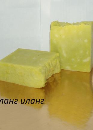 Мыло с нуля  пачули иланг-иланг , никакой мыльной  основы