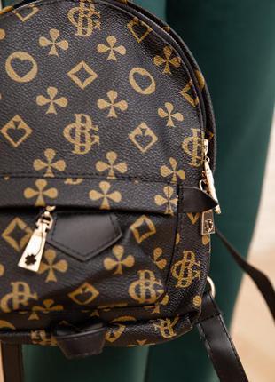 Купить рюкзак mini цвет черный недорого