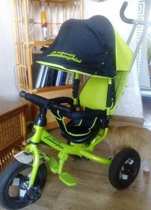 Велосипед детский трансформер Ламборджини
