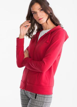 Женская кофта с капюшоном C&A, размер XS, розовая