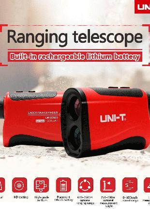 Оптический лазерный дальномер UNI-T LM600 монокуляр 600м телескоп