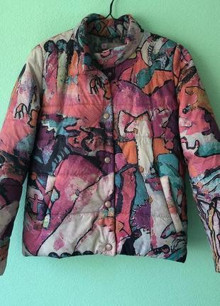 Куртка из плащевки