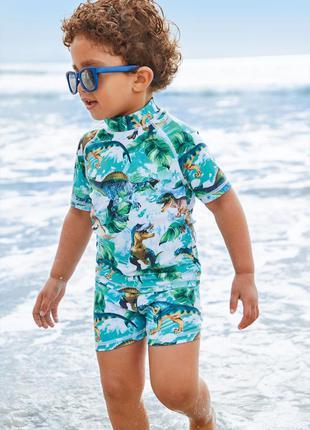 Солнцезащитные пляжные шорты и топ, от бренда next