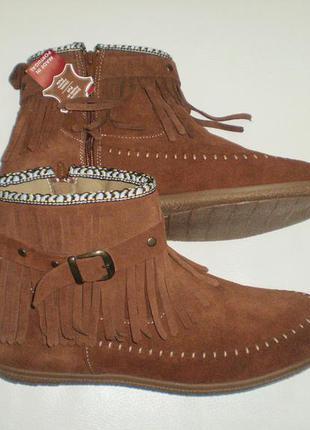 Ботинки замшевые Cable, р-р 41