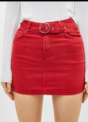 Трендовая женская яркая юбка