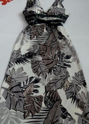 Платье макси 50 52 размер бюстье длинное вечернее