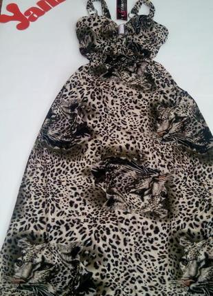 Платье  в пол вечернее 46  размер макси бюстье топ скидка sale...