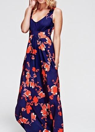 Платье макси 50 52 размер бюстье длинное