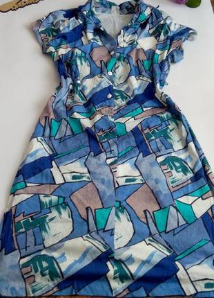 Платье нарядное 50 размер миди
