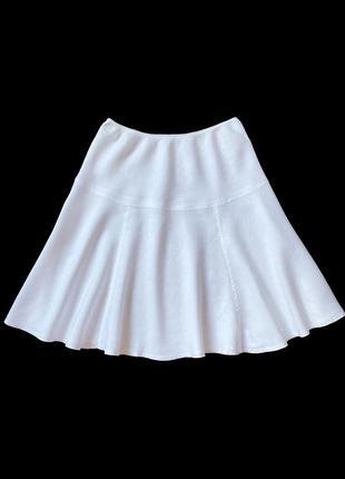 Льняная юбка united colours of benetton, xl