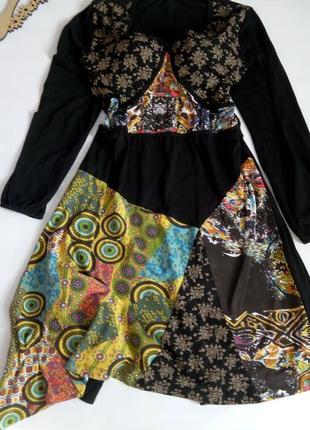 Платье 54 размер нарядное миди коктейльное бюстье черное вечер...